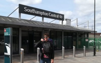 Episode 17 – Taking the Train to China – The Climate Academic Leading by Example by Refusing to Fly for Work – Dr. Roger Tyers, University of Southampton